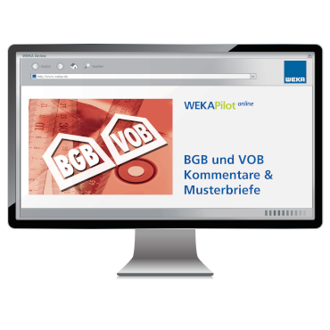 BGB und VOB Kommentare & Musterbriefe für Handwerker und Bauunternehmer