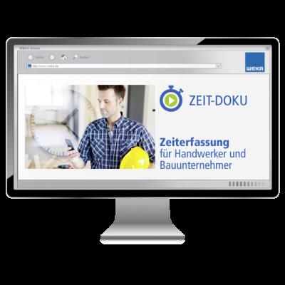 ZEIT-DOKU für Handwerker und Bauunternehmer - WEKA Bausoftware