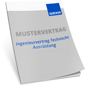 Mustervertrag Ingenieurvertrag Technische Ausrüstung nach HOAI 2021 - WEKA Bausoftware