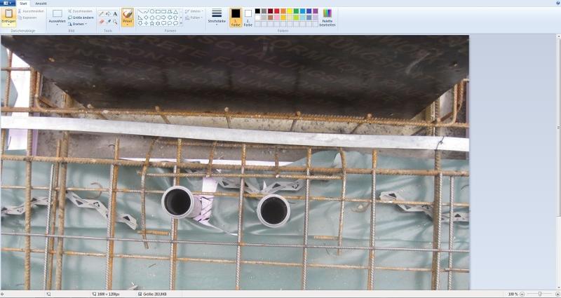 Bildbearbeitung in der Software über MS-Paint