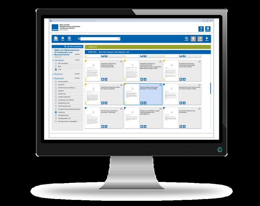 BGB und VOB Musterbriefe - Vorlagen für alle Bauphasen
