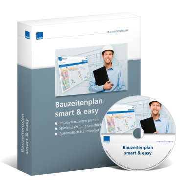 Bauzeitenplan smart & easy WEKA Bausoftware