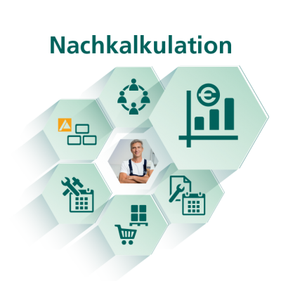 Nachkalkulation - Modul für Handwerksbüro PS - WEKA Bausoftware