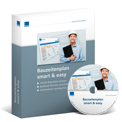 Bauzeitenplan smart & easy - WEKA Bausoftware