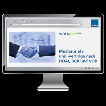 Musterbriefe und –verträge nach HOAI, BGB und VOB - WEKA Bausoftware