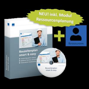Bauzeitenplan smart & easy + Modul Ressourcenplanung - WEKA Bausoftware