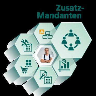 Zusatzmandanten - Modul für Handwerksbüro PS - WEKA Bausoftware