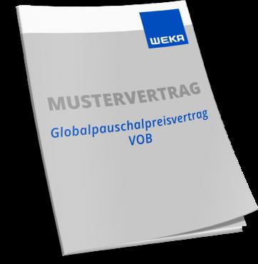 Mustervertrag Globalpauschalpreisvertrag VOB WEKA Baussoftware