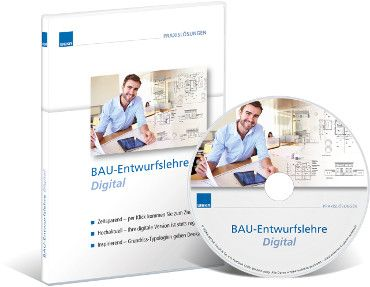 BAU-Entwurfslehre digital - WEKA Bausoftware