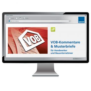VOB Kommentare und Musterbriefe für Handwerker und Bauunternehmer