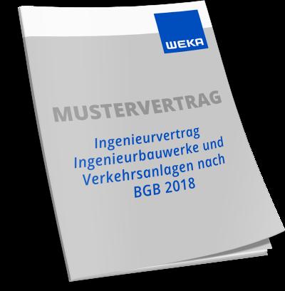 Mustervertrag Ingenieurvertrag Ingenieurbauwerke und Verkehrsanlagen nach BGB 2018