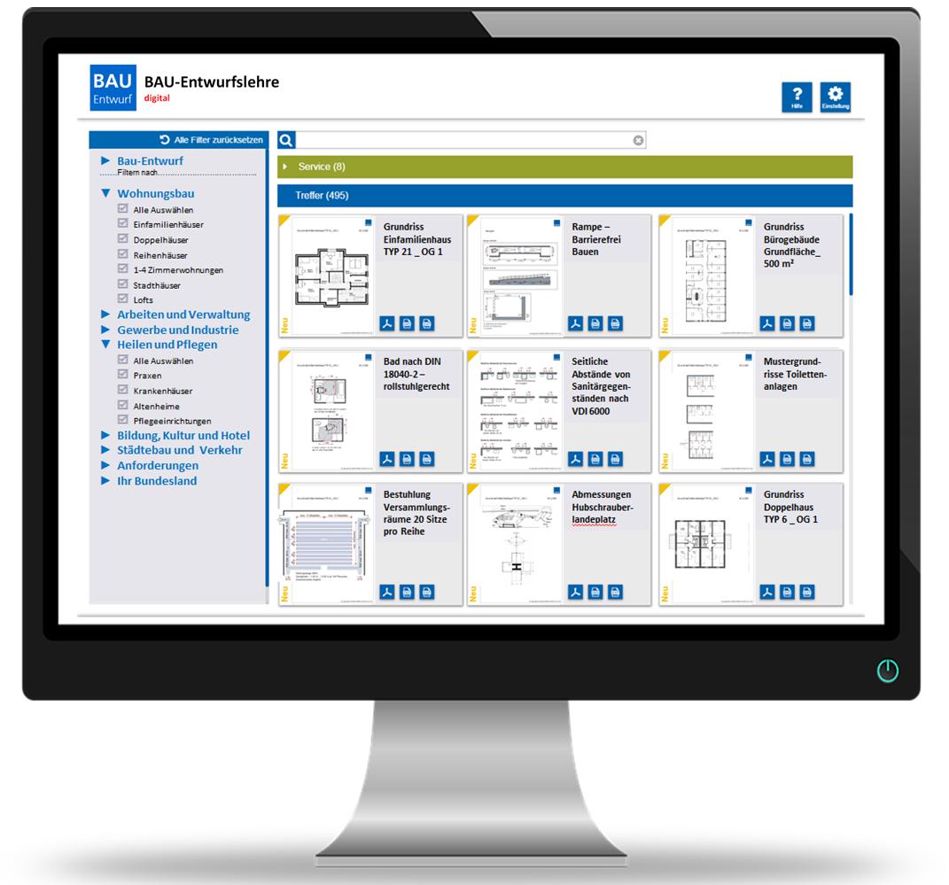 Jetzt Neu: Ihre BAU-Entwurfslehre digital!