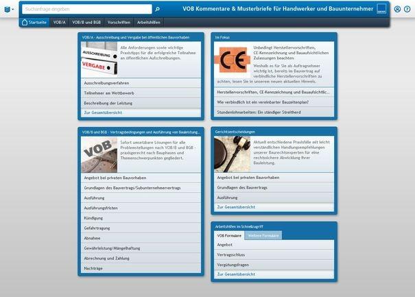 VOB Kommentare & Musterbriefe - Schnelle Lösung für jedes Problem