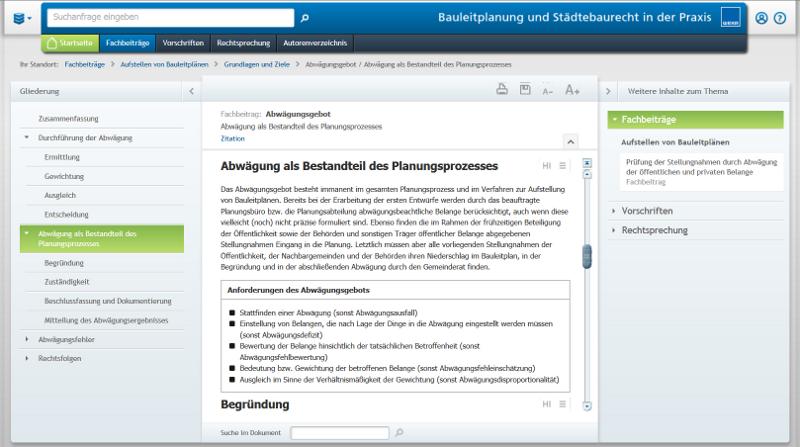 Praxishandbuch - Mit der praktischen Suchfunktion schnell zur Fachantwort!