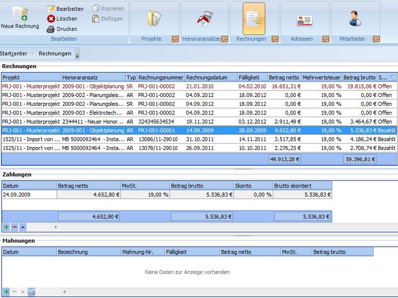 Honorarabrechnung - Zuverlässige Rechnungsstellung