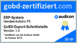 Siegel Audicon Handwerksbüro PS